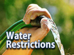 RESTRICTION ON LAWN WATERING